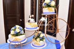 pastel-boda-bicicleta-dorado-azul-quito