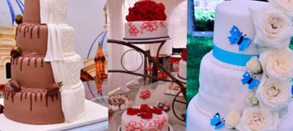 Modelos de Tortas de Matrimonio las más destacadas
