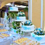 Torta de boda - Quito - Turquesa base bicicleta